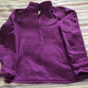 Women's better sweater 1/4-zip Fleece